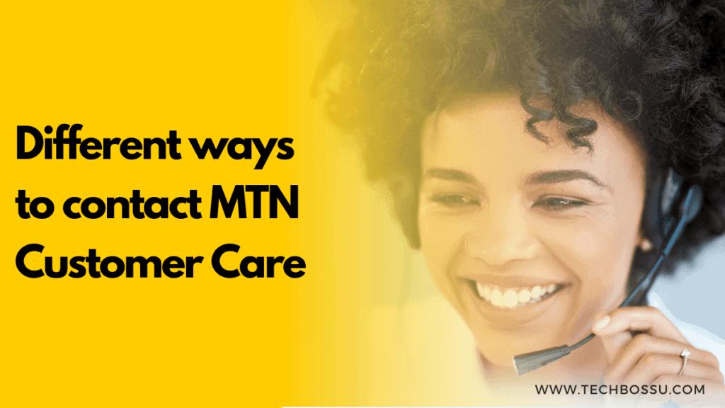 MTN GH customer care
