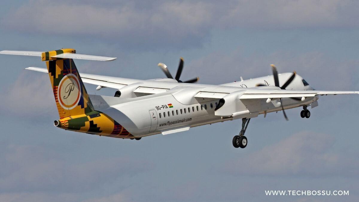 passion air ghana plane