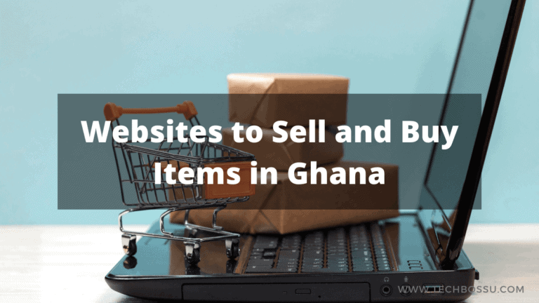 Websites To Buy And Sell Items In Ghana