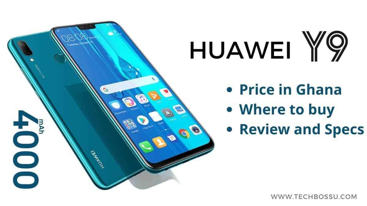 Huawei Y9 price in Ghana