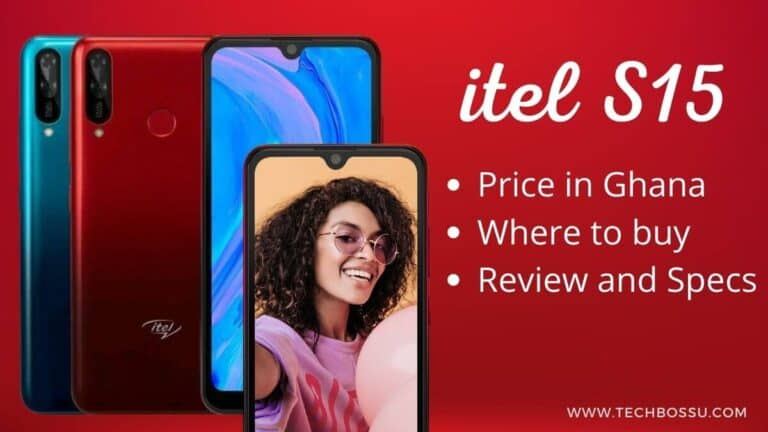 itel S15 price in Ghana