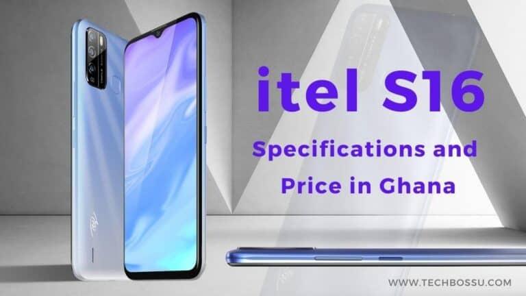 itel S16 Price in Ghana