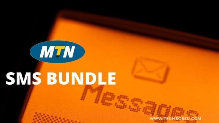 MTN GH SMS bundle