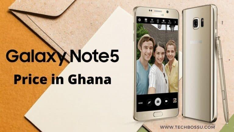 Samsung Galaxy Note 5 Price in Ghana